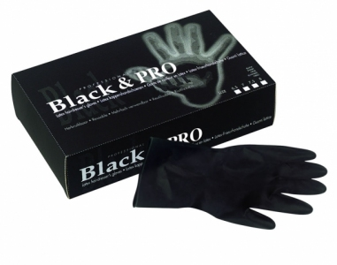094000155 Rukavice Latex Black & Pro 20 kom - M